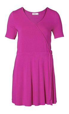 Ružové krátke šaty Sheego