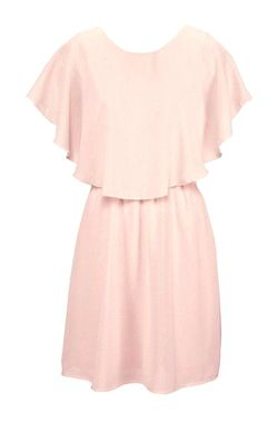 Ružové šifónové šaty VERO MODA