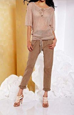 Semišové nohavice APART
