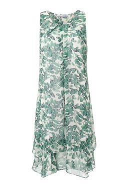 Šifónové šaty zeleno-biele Ashley Brooke