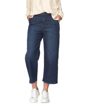 Široké džínsy Cullote s vysokým pásom TOMMY HILFIGER