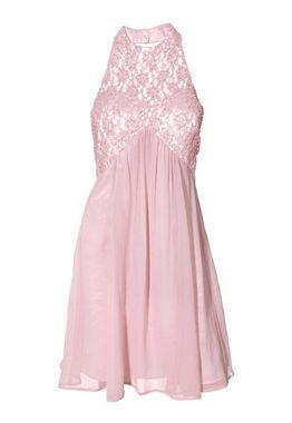 Spoločenské ružové šaty Carry Allen