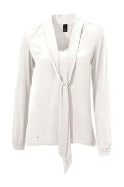 Štýlová biela blúzka z tričkoviny HEINE - B.C.