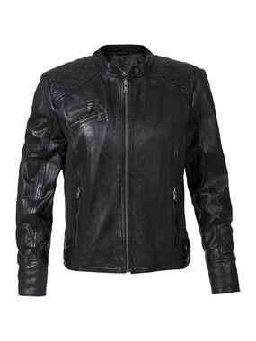 Štýlová kožená bunda Sheego