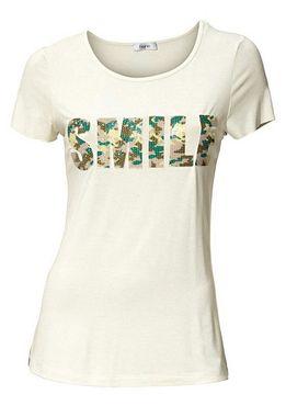 Štýlové tričko s nápisom HEINE