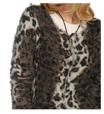 Sveter s leopardim vzorom Laura Scott