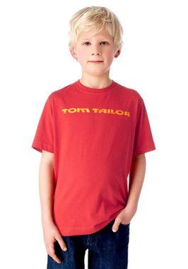 Tom Tailor detské tričko červené