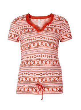 Tričko s etno vzorom Sheego