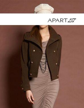 Vlnený kabát APART