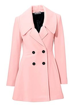 Vlnený kabátik cukrová vata Ashley Brooke