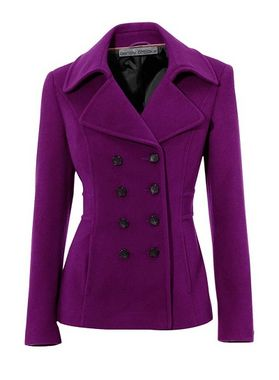 Vlnený krátky kabát Ashley Brooke