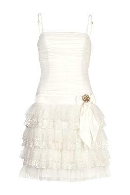 Volánové svadobné šaty APART