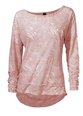 Žakarové tričko, ružové Heine- Best Connections