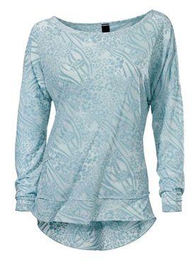 Žakarové tričko, svetlomodré Heine- Best Connections