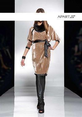 Zamatovohodvábne šaty APART
