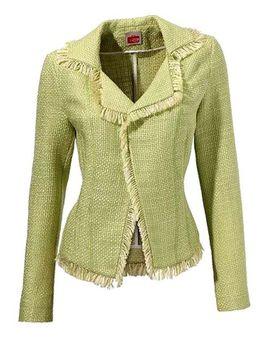 Zelené buklé sako Travel Couture by HEINE