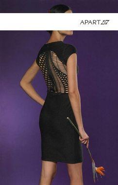 Zmyselné čierne šaty APART
