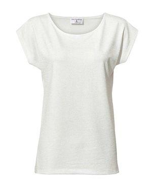 Biele tričko s leskom
