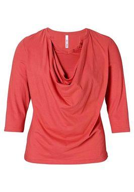 Dámske červené tričko Sheego