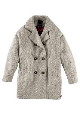 Oversized vlnený kabát ICHI