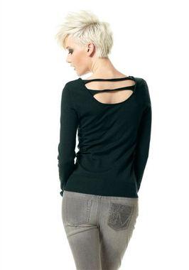 Dámsky tmavozelený pulóver Material Girl