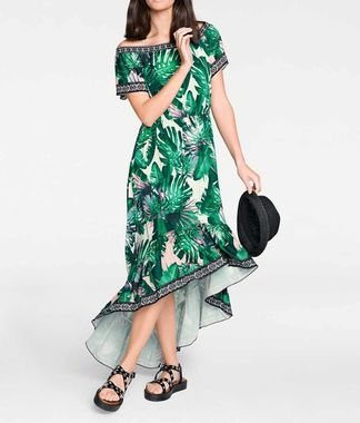 Letné maxi šaty s potlačou Rick Cardona