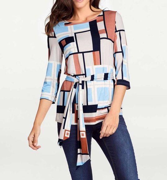 Tričko s grafickou potlačou, farebné