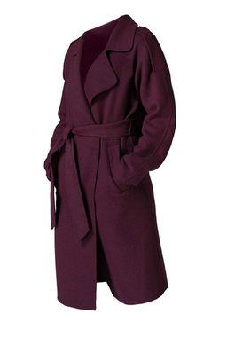 Vlnený kabát Guido Maria Kretschmer, bordó