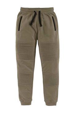 Detské teplákové nohavice Buffalo, khaki
