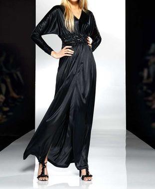 1b480e9cea6 Elegantné dlhé šaty s kamienkami APART
