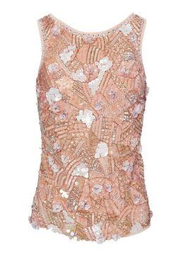 Elegantný top Ashley Brooke, ružová