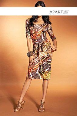 Extravagantné šaty s potlačou APART