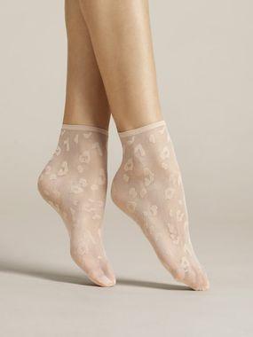 FIORE silonkové ponožky Doria, púdrová
