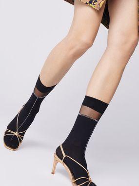 FIORE silonkové ponožky ELENA 40 den