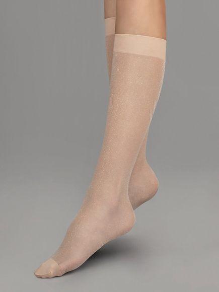 FIORE silonkové ponožky KAIA 20 den, telová