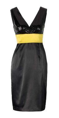 Kokteilové čierne šaty APART