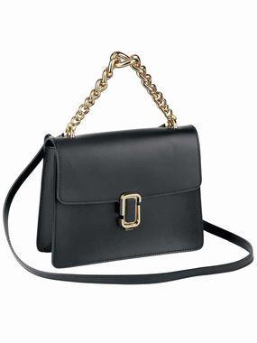 Kožená čierna kabelka