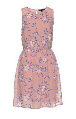 Šifónové šaty VERO MODA, ružová