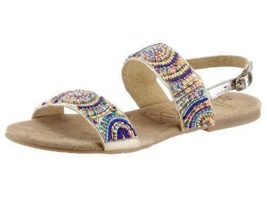 Veselé kožené sandále XYXYX