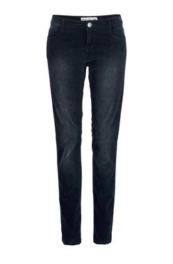 Zamatové nohavice QS by S.Oliver, modrá