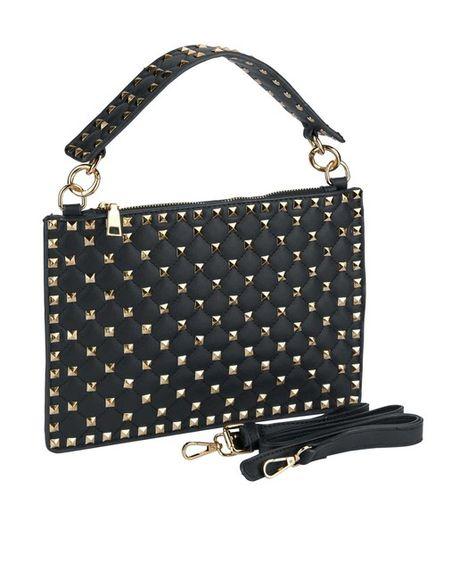 Sweet Deluxe kabelka s nitmi, čierna