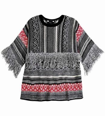Pepe Jeans žakarový sveter v etno štýle, farebný