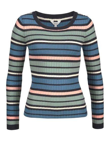 Pruhovaný pulóver Pepe Jeans