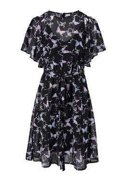 Šifónové šaty s potlačou motýľa 20c5a1cc44e