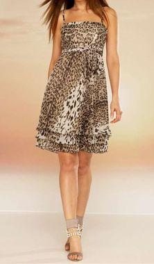 """APART šifónové šaty s """"leo"""" vzorom"""