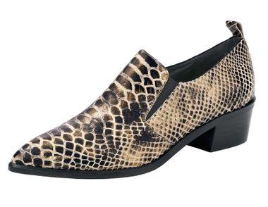4f02ec446747c Exkluzívne kožené kotníkové topánky, čierne - Violettemoda.sk
