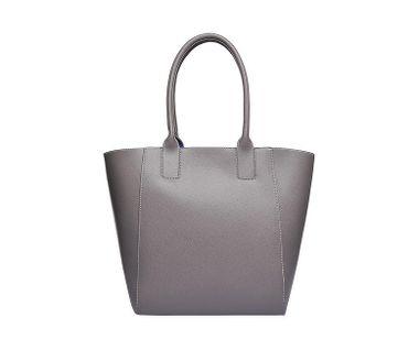 Štýlová shopperka sivo-modrá