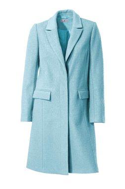 Vlnený kabát Rick Cardona, modrý