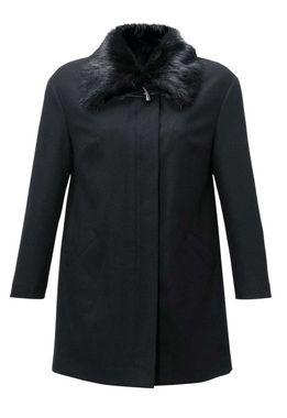 ebf35b250adc Vlnený kabát s kožušinou Guido Maria Kretschmer