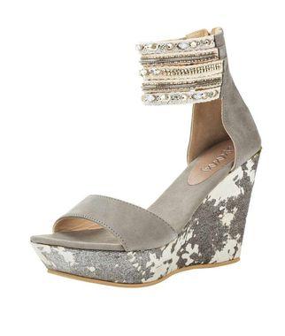 Sandále na platforme xyxyx, sivá